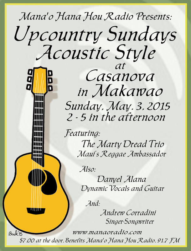 Up Country Sundays 5-3-15 Marty Dred