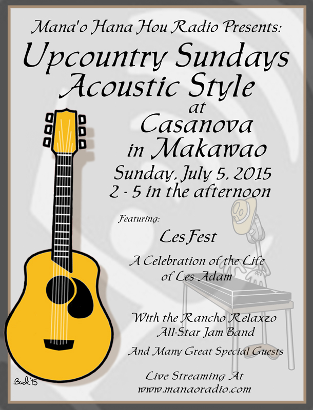 Up Country Sundays 7-3-15 Les Fest