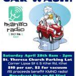 Mana'o Radio Benefit Car Wash!