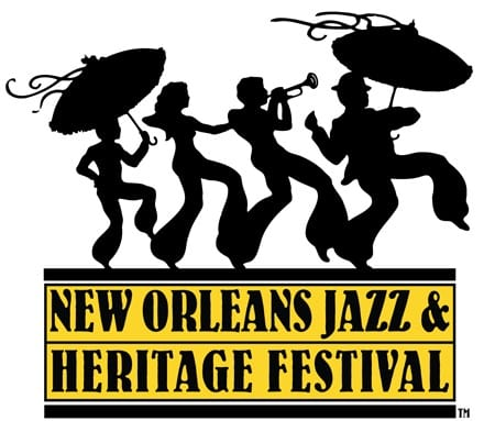 NOLA Jazz & Heritage Festival graphic