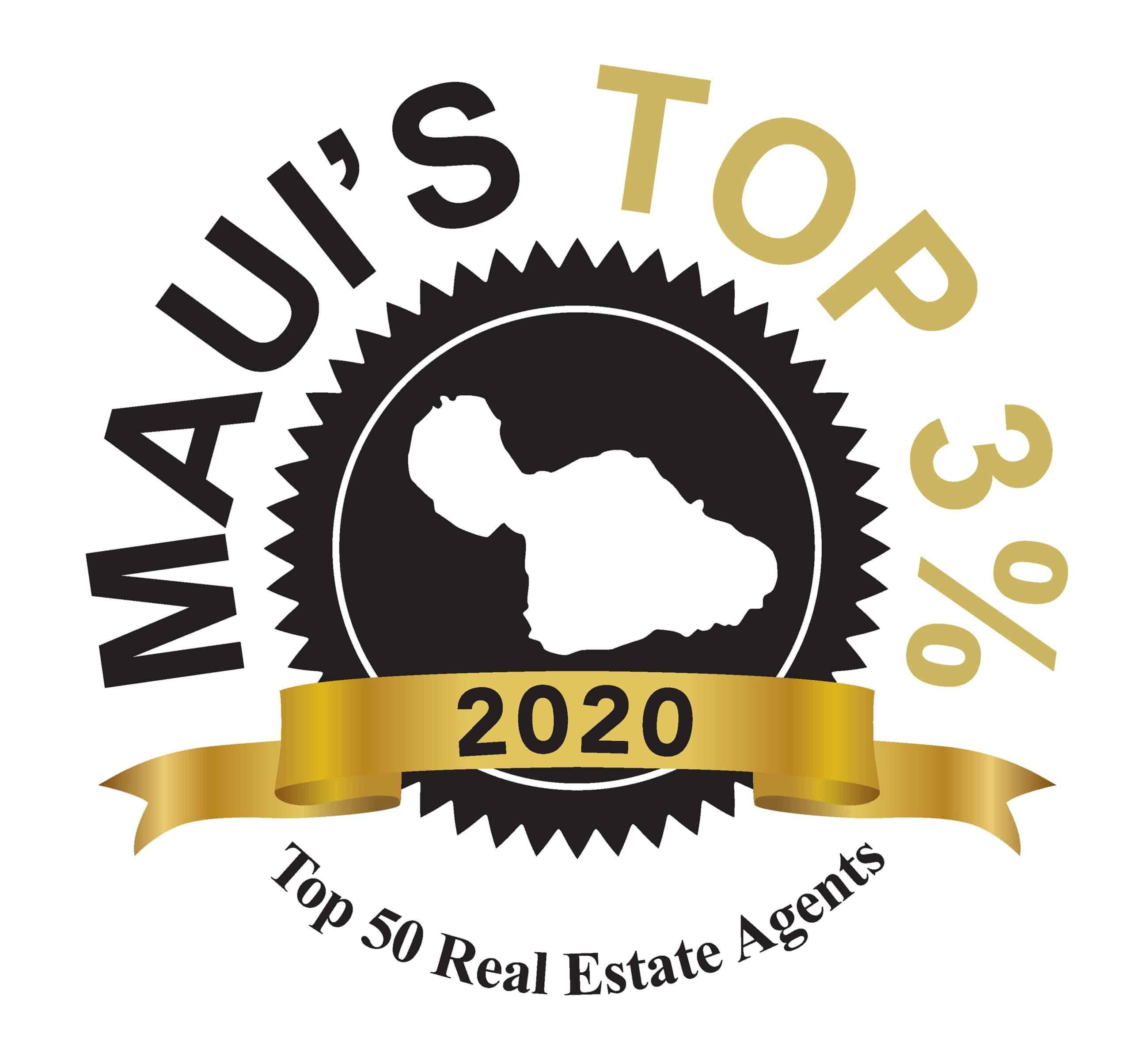 Dave Futch Maui Top 3% 2020 LOGO